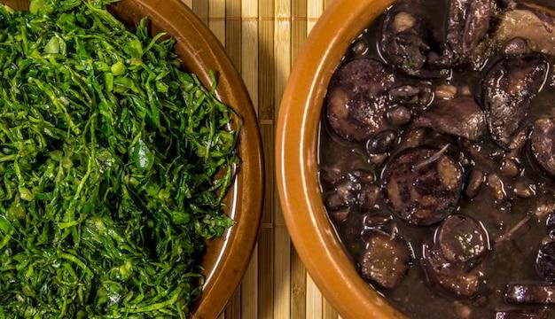Feijoada brazilian traditional food