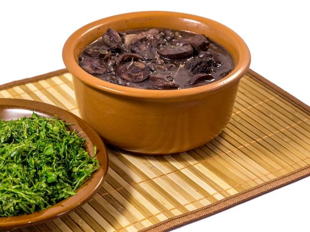 Feijoadaブラジルの伝統的な食べ物