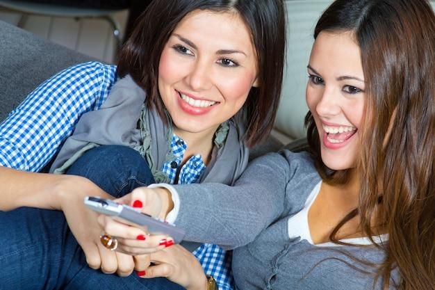 Feliz mujer hogar felicidad video