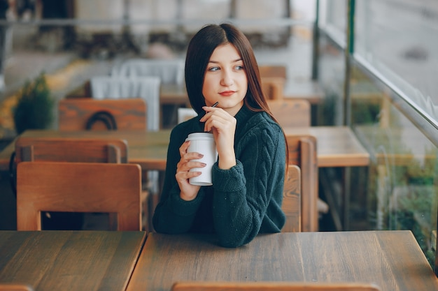 Female background alone beautiful happiness