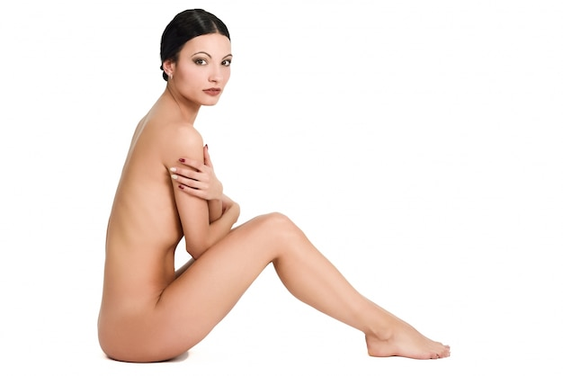 Female background health sensuality naked