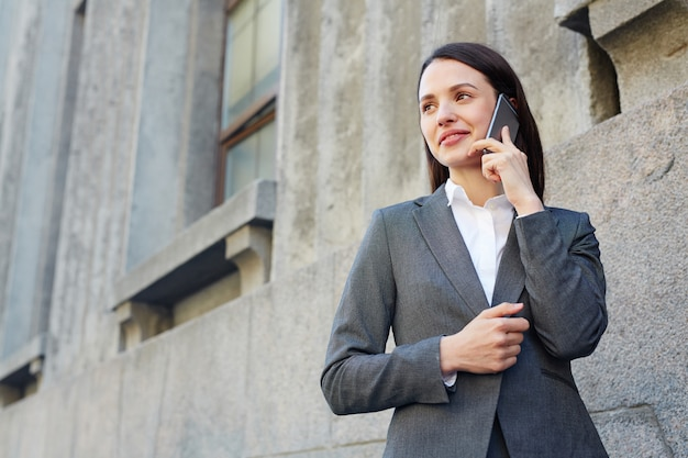 Female broker