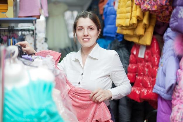 衣料品店の女性バイヤー