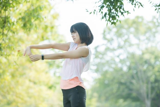 Female exercise image