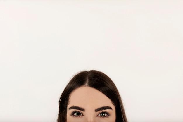 Женское лицо