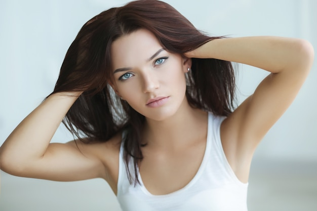 Female hair problems caused by emotional stress