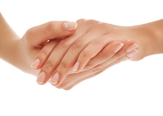 Female hands.manicure concept