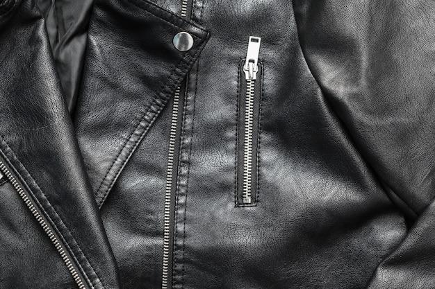 Female leather jacket