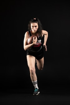 스포츠에서 여성 럭비 선수