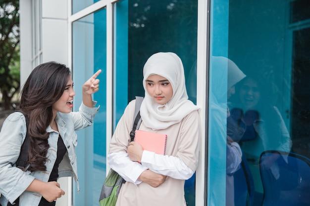 Female student bullying