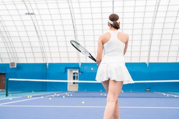 女子テニス選手