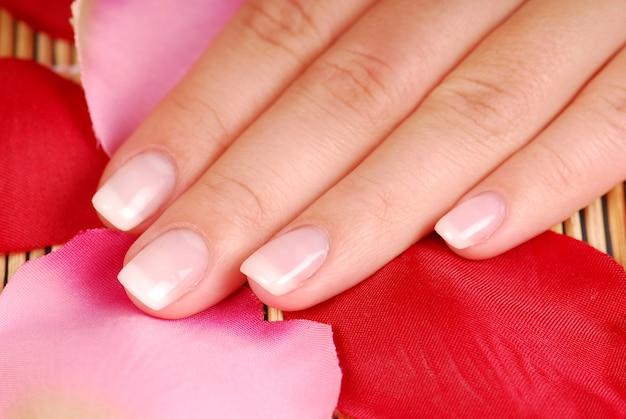 Female toenail.