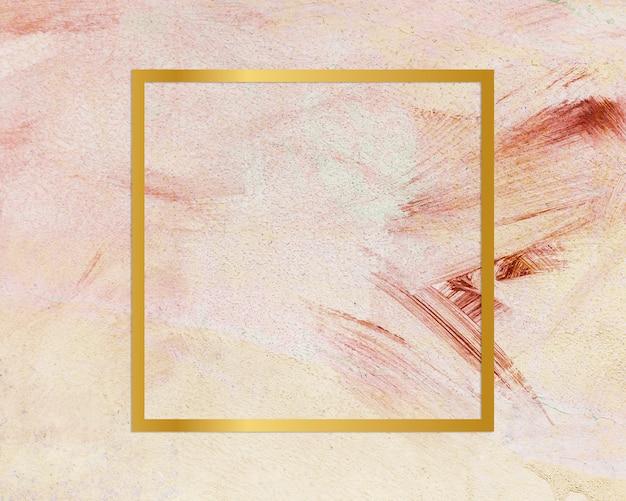 Feminine grunge concept frame