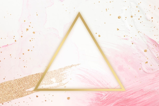 Cornice triangolare femminile
