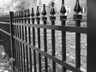 Fence, ornate