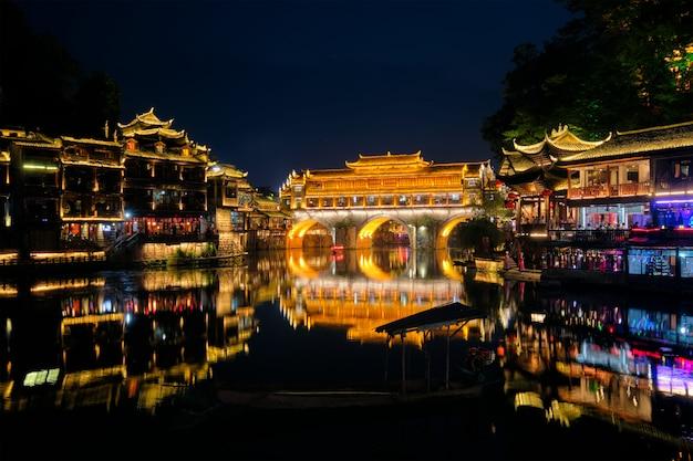 Feng huang ancient townフェニックス古代町、中国