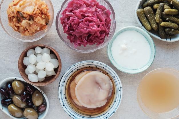 Ферментированные пробиотические продукты для здоровья кишечника