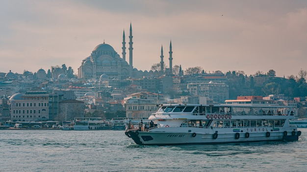 Ferry boat in turkey