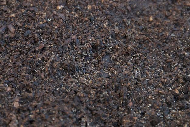 Fertile dirt soil texture