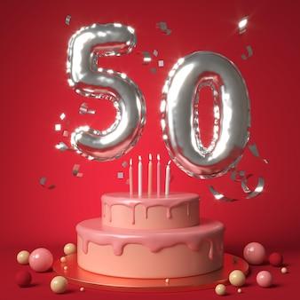 お祝いの50歳の誕生日のお祝いの手配