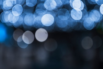 Festive abstract background with bokeh defocused light