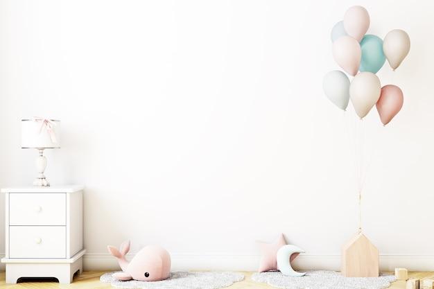 Праздничный фон детской комнаты