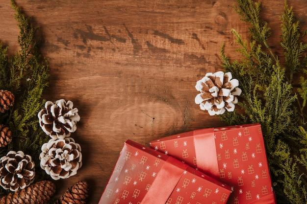 Праздничный рождественский фон