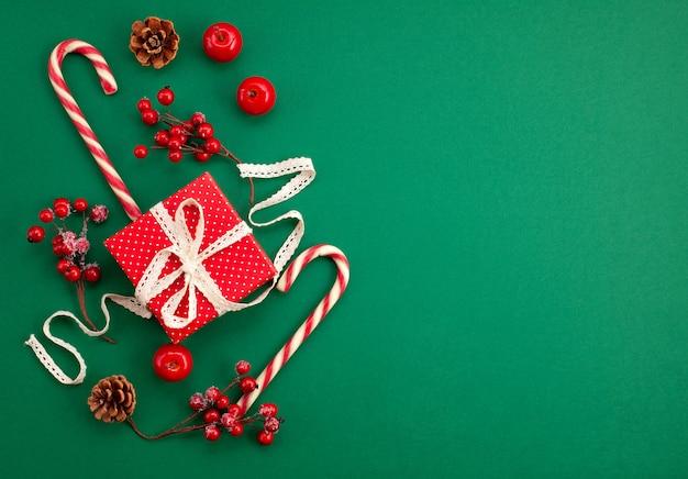 Festive christmas mockup