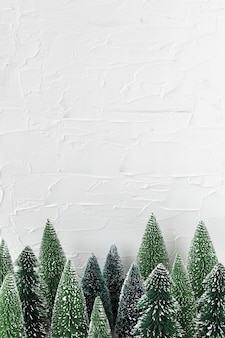 Festive christmas tree frame design