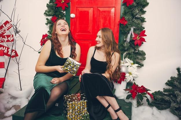 Festive ladies