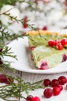 Festive pastries.tart.