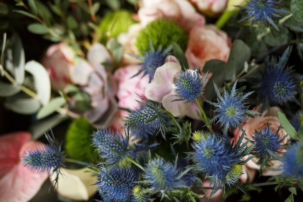 フィーバーウィードの花。イベントの花の装飾