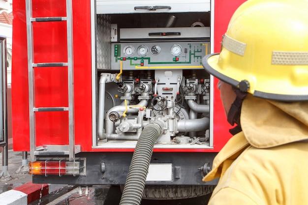 Ffiretruck equipment