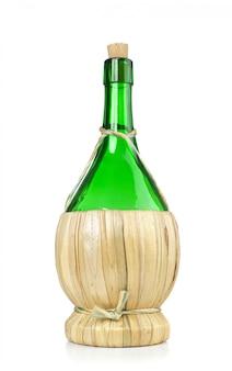 Fiasco italian wine bottle