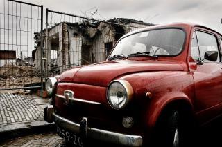 Fiat мини классический автомобиль