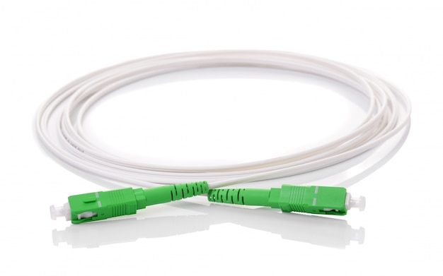 Fiber optic cable isolated