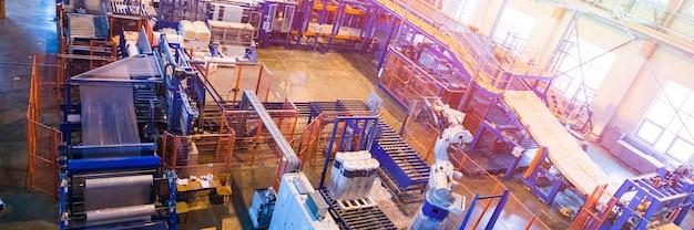 Оборудование для производства стекловолокна на производстве
