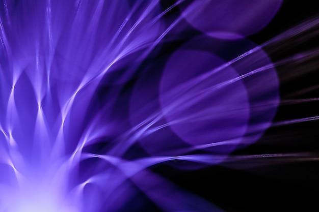 Волоконно-оптический абстрактный