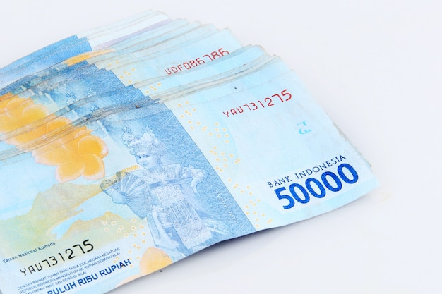 Fifty thousand rupiah currency collection