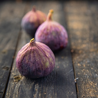 Fig fruit fresh figs snack on the table copy space food background diet