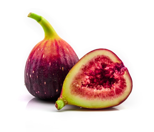 Fig isolated on white background.