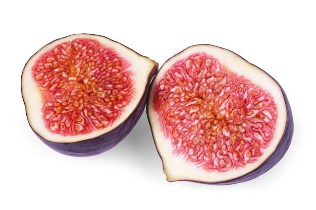 Fig isolated on white background.