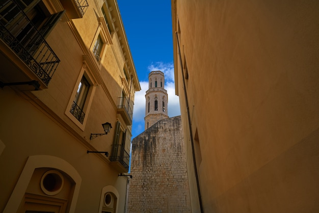 Figueres cathedral san pere in catalonia