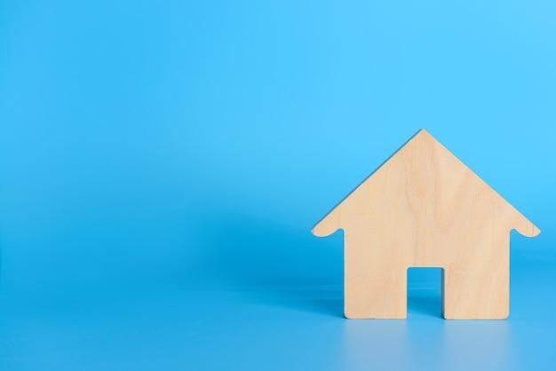 Рисунок дома по цвету. понятие недвижимости