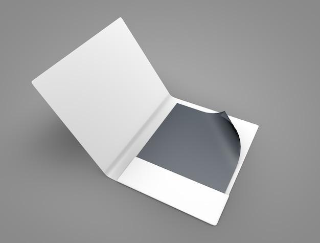 File cover mockup