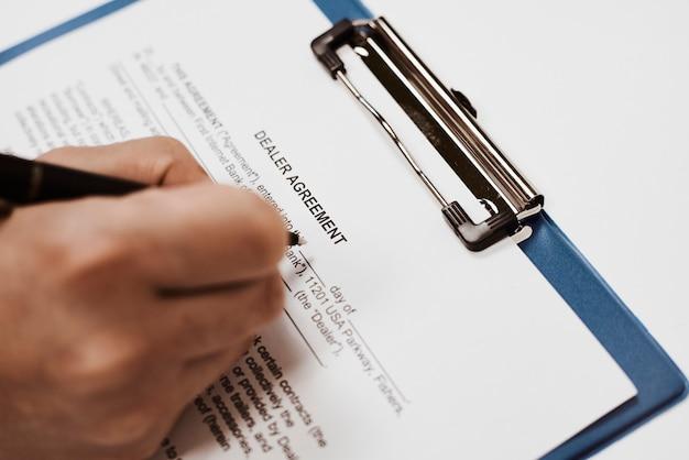 Filling dealer agreement