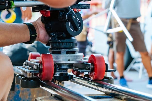 Film crew background