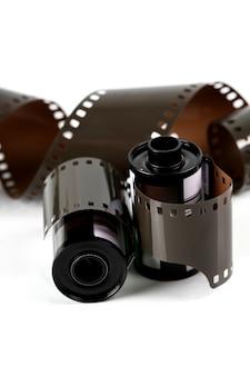 Striscia di pellicola isolata