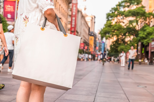 Finance bags travel shopping bags business consumption