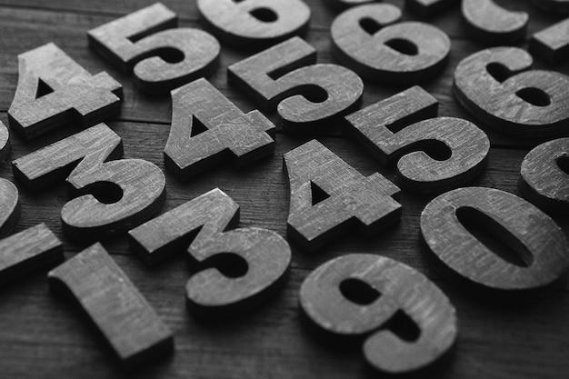 금융 데이터 개념. 숫자와 함께 완벽 한 패턴입니다. 금융 위기 개념.